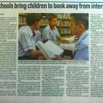 Schools Bring Children to Book Away from Internet in The National Newspaper, United Arab Emirates